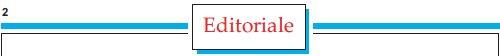 Editoriale, di Paolo Gariglio
